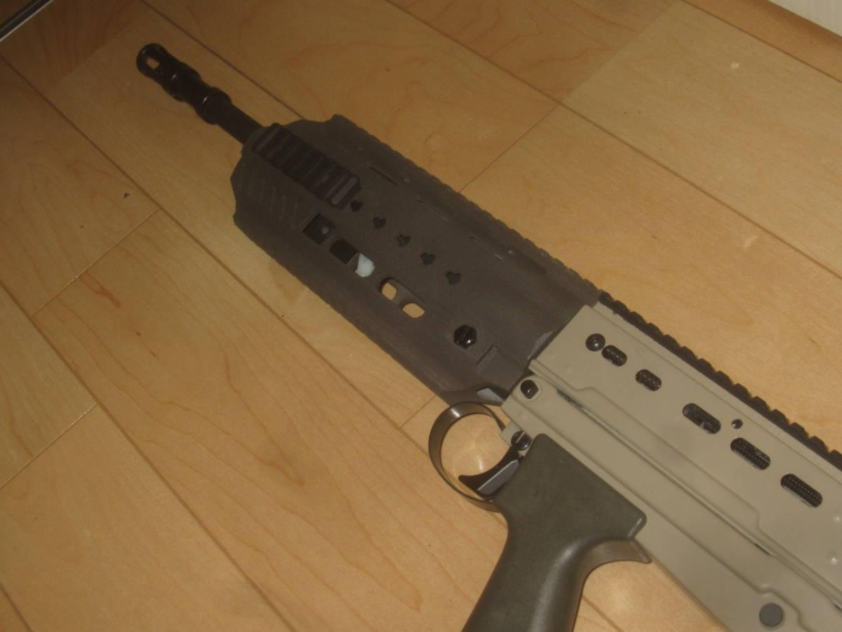 L85A3(SA80A3)自作ハンドガードキット組込 G&G 訳アリ 1円スタート L85A1 L85A2 M4 416 _画像3