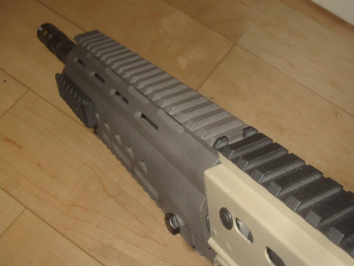 L85A3(SA80A3)自作ハンドガードキット組込 G&G 訳アリ 1円スタート L85A1 L85A2 M4 416 _画像4