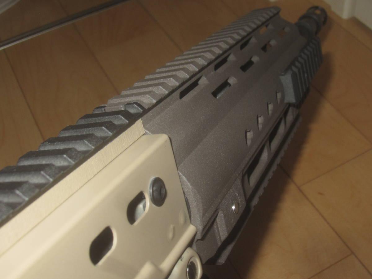 L85A3(SA80A3)自作ハンドガードキット組込 G&G 訳アリ 1円スタート L85A1 L85A2 M4 416 _画像7