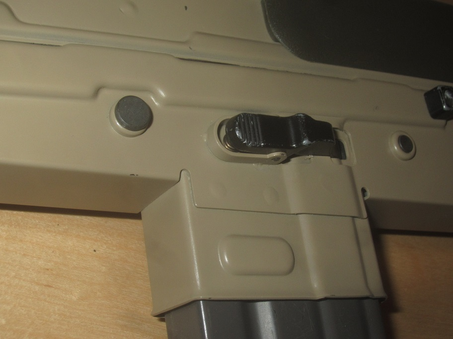L85A3(SA80A3)自作ハンドガードキット組込 G&G 訳アリ 1円スタート L85A1 L85A2 M4 416 _画像6