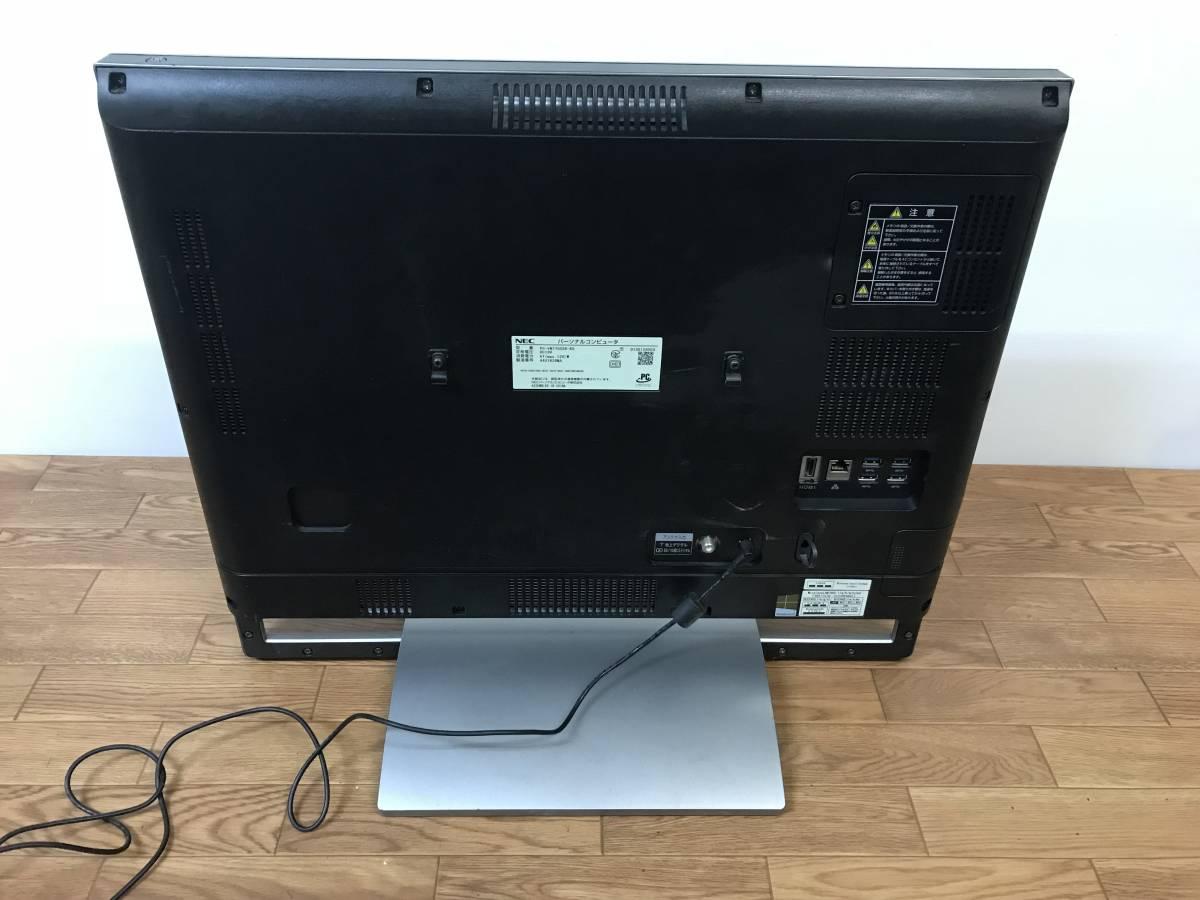 NEC VALUESTAR N VN770/SSR-KS PC-VN770SSR-KS 一体型パソコン i7-4700MQ 8GB 1.5TB Win8.1 液晶割れ ジャンク品 _画像2