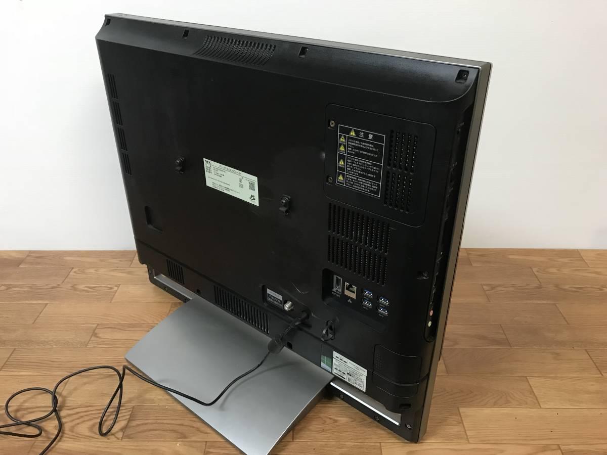 NEC VALUESTAR N VN770/SSR-KS PC-VN770SSR-KS 一体型パソコン i7-4700MQ 8GB 1.5TB Win8.1 液晶割れ ジャンク品 _画像3