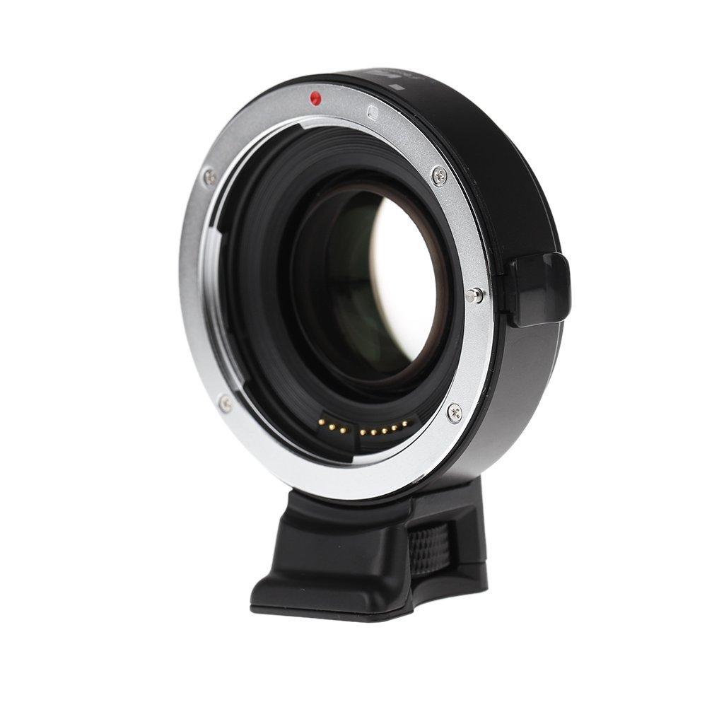 Viltrox EF-E オートAFマウントアダプター フォーカルレデューサーブースターアダプター Canon EF→Sony E-mount APS-Cカメラ用拍卖
