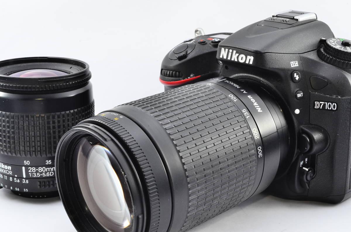 ★極上美品★ニコン Nikon D7100 超望遠300mm ダブルズームセット★オマケSDカード付き #10