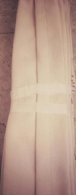 川島織物セルコン オーダーメイドカーテン ドレープ新品ME2300_画像5