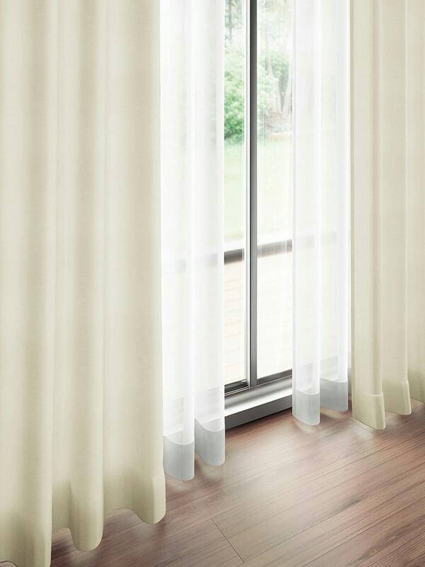 川島織物セルコン オーダーメイドカーテン ドレープ新品ME2300_画像1