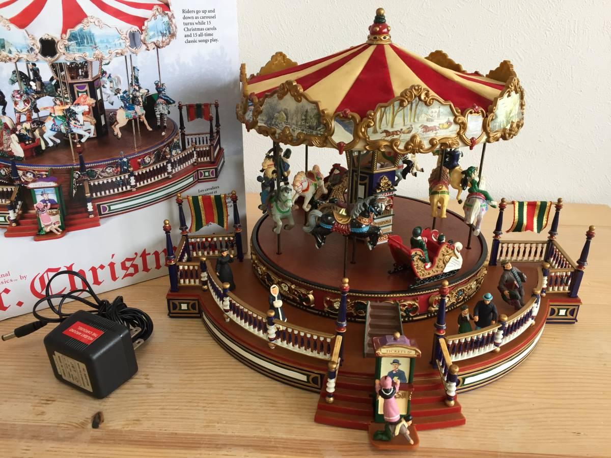 MR CHRISTMAS メリーゴーランド The Carousel ミスタークリスマス ホリデーアラウンド ザ カルーセル 15曲 動作確認済み レア 1806293