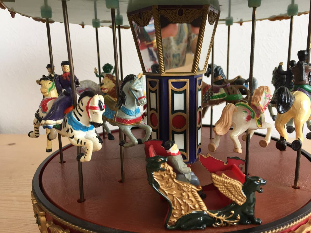 MR CHRISTMAS メリーゴーランド The Carousel ミスタークリスマス ホリデーアラウンド ザ カルーセル 15曲 動作確認済み レア 1806293_画像9