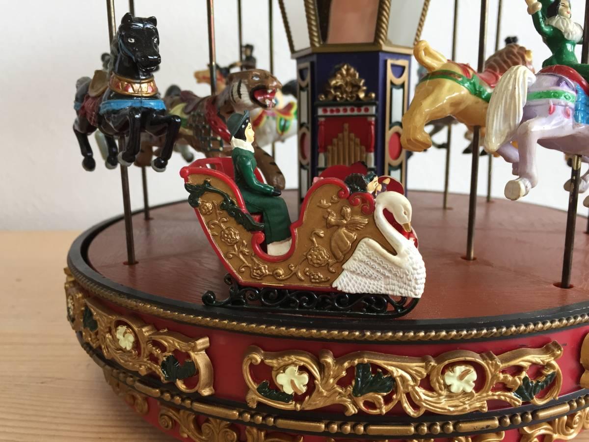 MR CHRISTMAS メリーゴーランド The Carousel ミスタークリスマス ホリデーアラウンド ザ カルーセル 15曲 動作確認済み レア 1806293_画像7