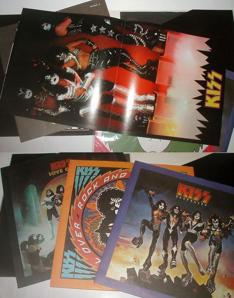 【レコード】KISS キッス LP THE ORIGINALS II 続・地獄の全貌_画像4