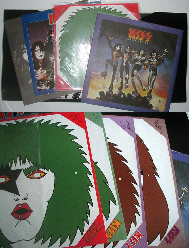 【レコード】KISS キッス LP THE ORIGINALS II 続・地獄の全貌_画像3
