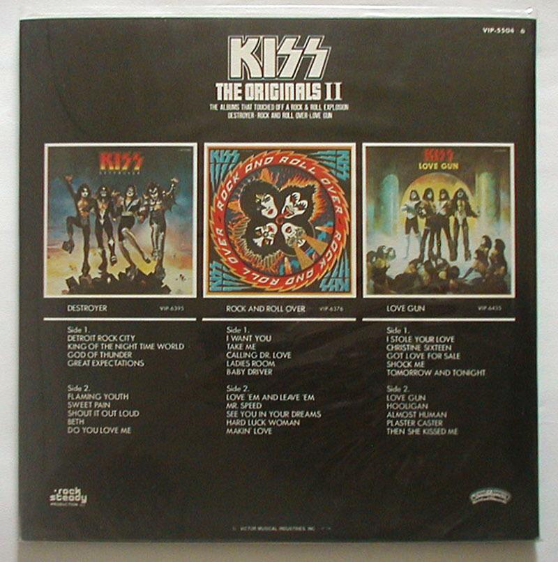 【レコード】KISS キッス LP THE ORIGINALS II 続・地獄の全貌_画像2