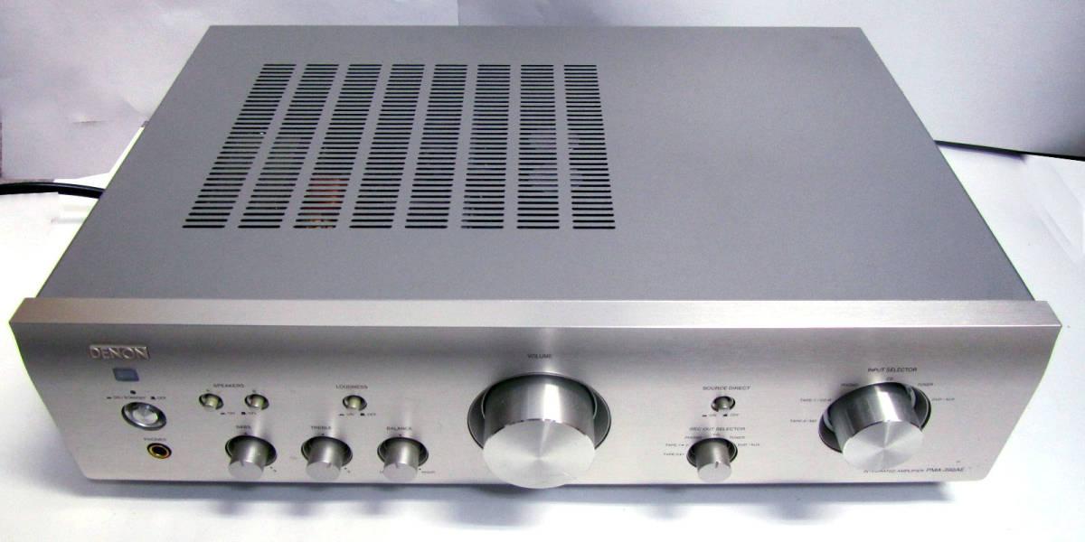 ◆ DENON デノン プリメインアンプ PMA-390AE 2006年 中古品 ◆