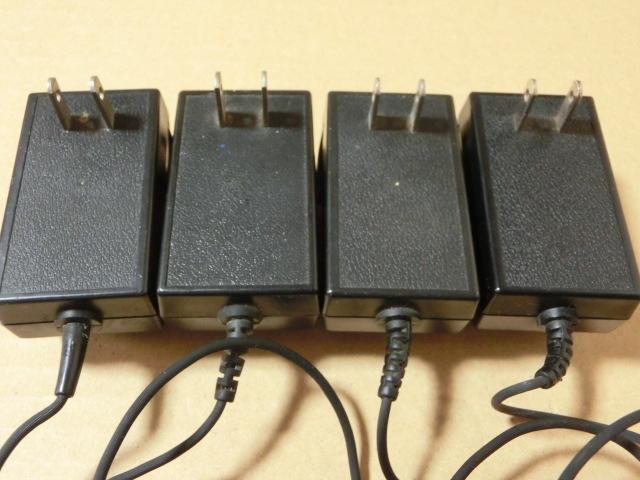 SONYソニー AC-9 ACアダプター DC-6V 300mA スカイセンサー 電源コード (ICF-5800・ ICF-5600など)まとめて4個 _画像3