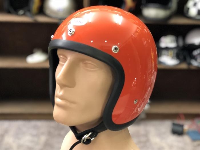OCEAN BEETLE オレンジ 500TX LAC L.A.C ジェット ビンテージヘルメット BELL BUCO チョッパー オーシャンビートル_画像1