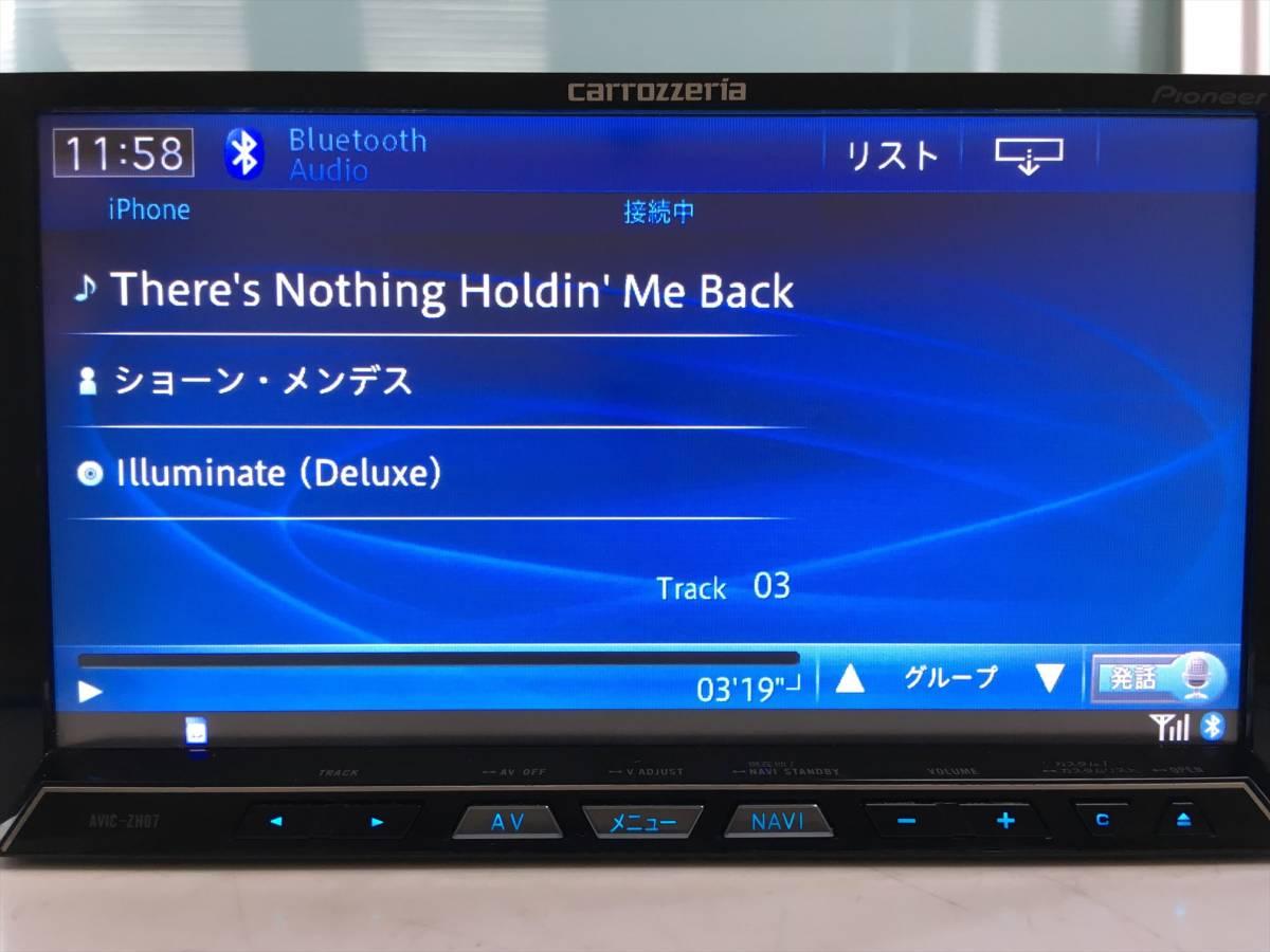 ★2013MAP Bluetooth/フルセグ内蔵 カロッツェリア HDDナビ AVIC-ZH07 地デジ/DVD/SD/USB/Bluetooth★90275410_画像8