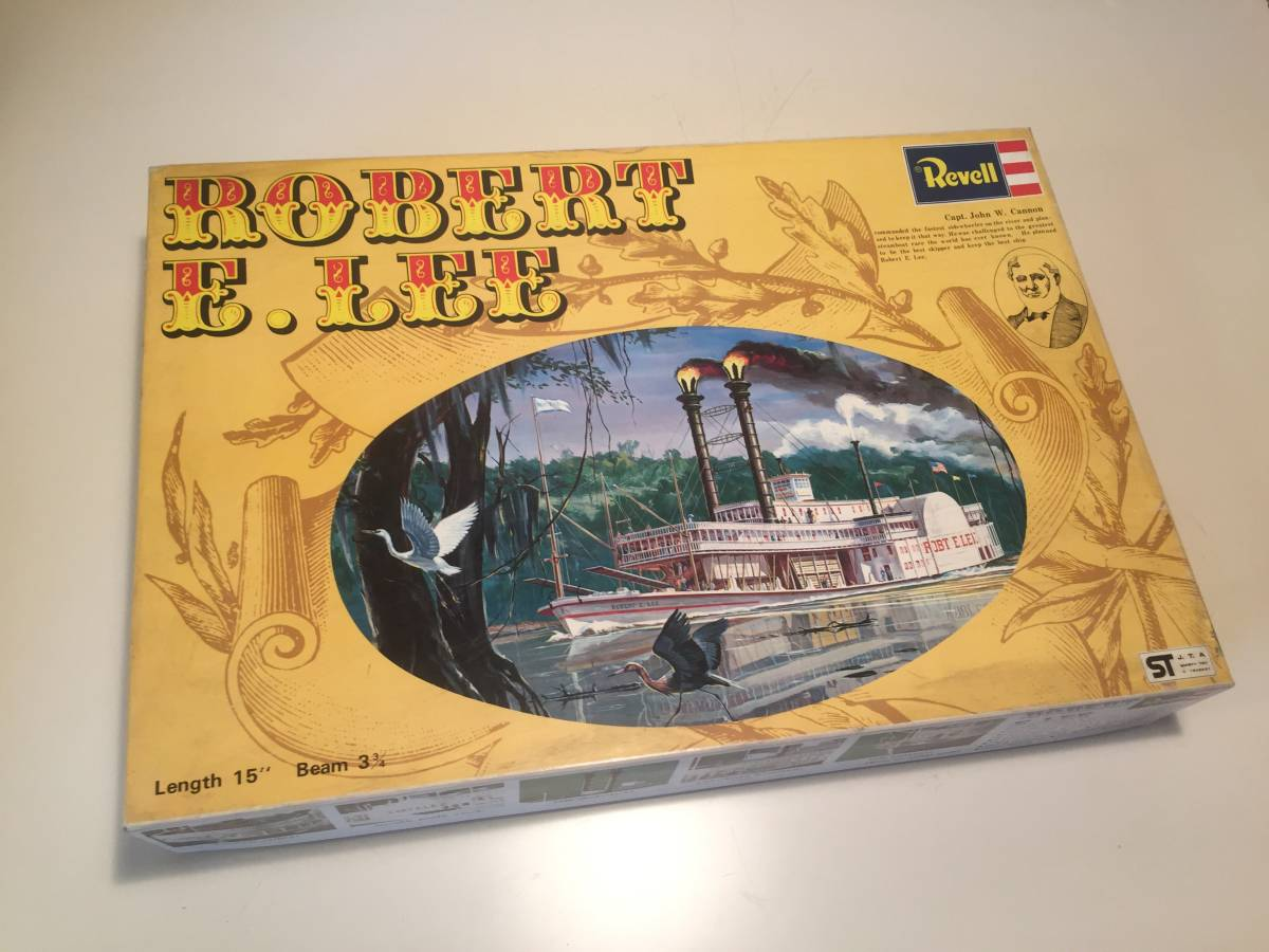 『ロバート・E・リー』グンゼレベル 1973年製 未開封未組立