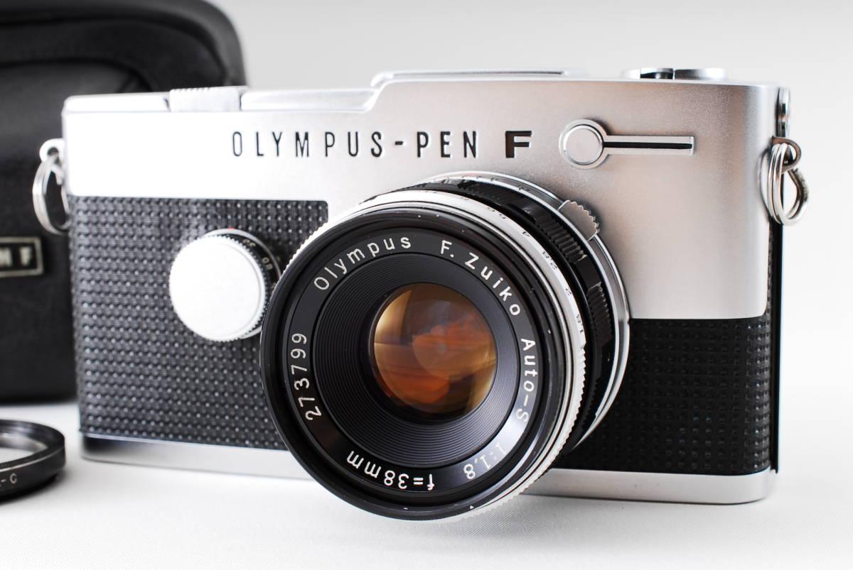 ★希少美品★オリンパス Olympus PEN- FT G.zuiko Auto-s 38mm F1.4 オリンパスペンFT★137