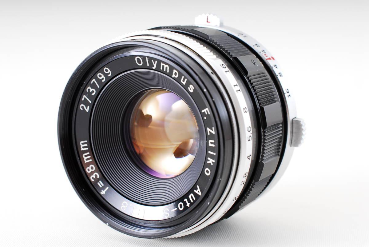 ★希少美品★オリンパス Olympus PEN- FT G.zuiko Auto-s 38mm F1.4 オリンパスペンFT★137_画像8