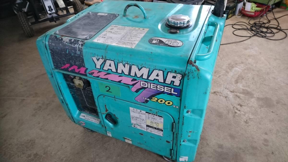 5E Generator yanmar soundproofing type diesel generator ydg200ss-5e