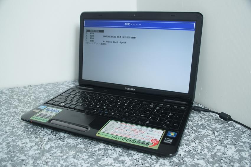 【ジャンク】Dynabook PT45157DBFBD T451/57DBD Core i7-2670QM 2.2Ghz