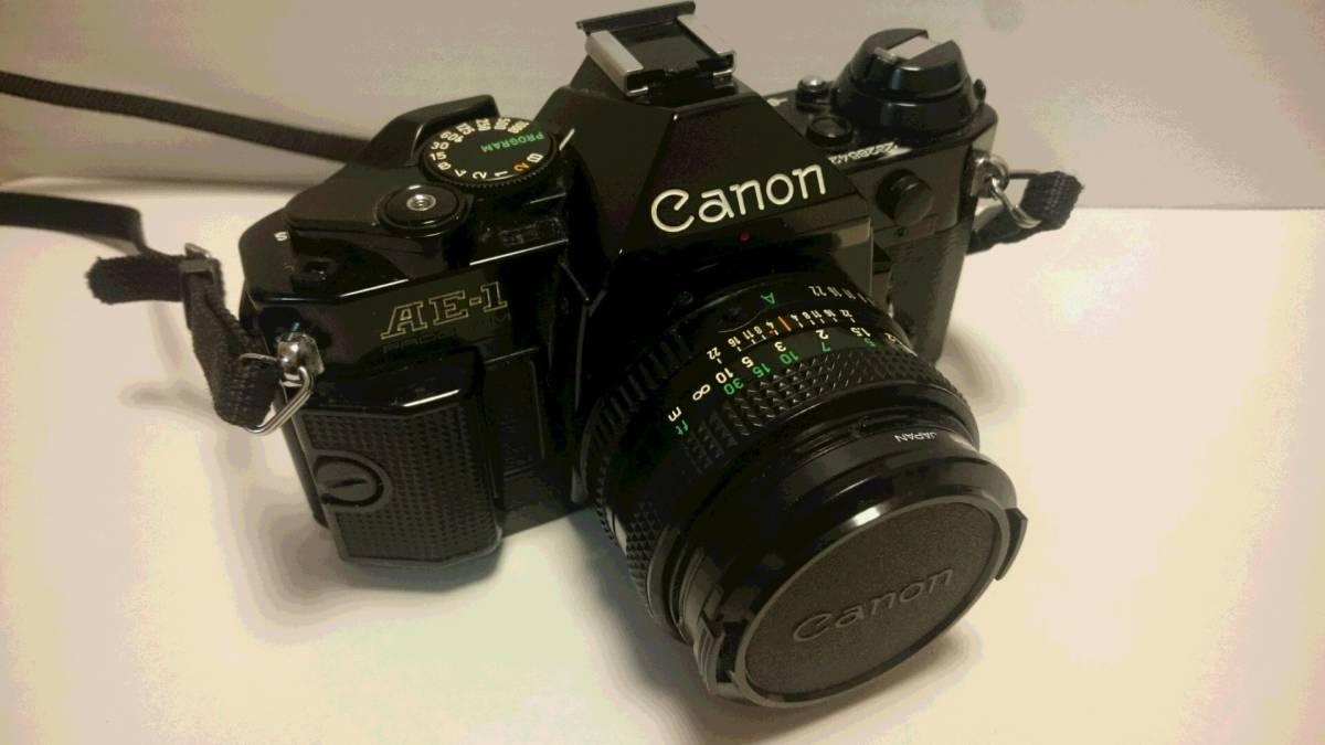 ジャンク Canon AE-1 PROGRAM キヤノン AE-1 プログラム