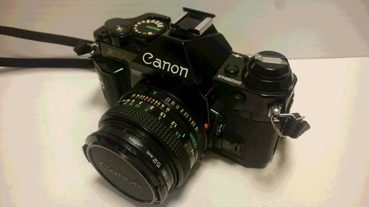 ジャンク Canon AE-1 PROGRAM キヤノン AE-1 プログラム _画像2