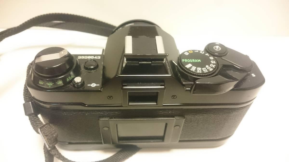 ジャンク Canon AE-1 PROGRAM キヤノン AE-1 プログラム _画像3