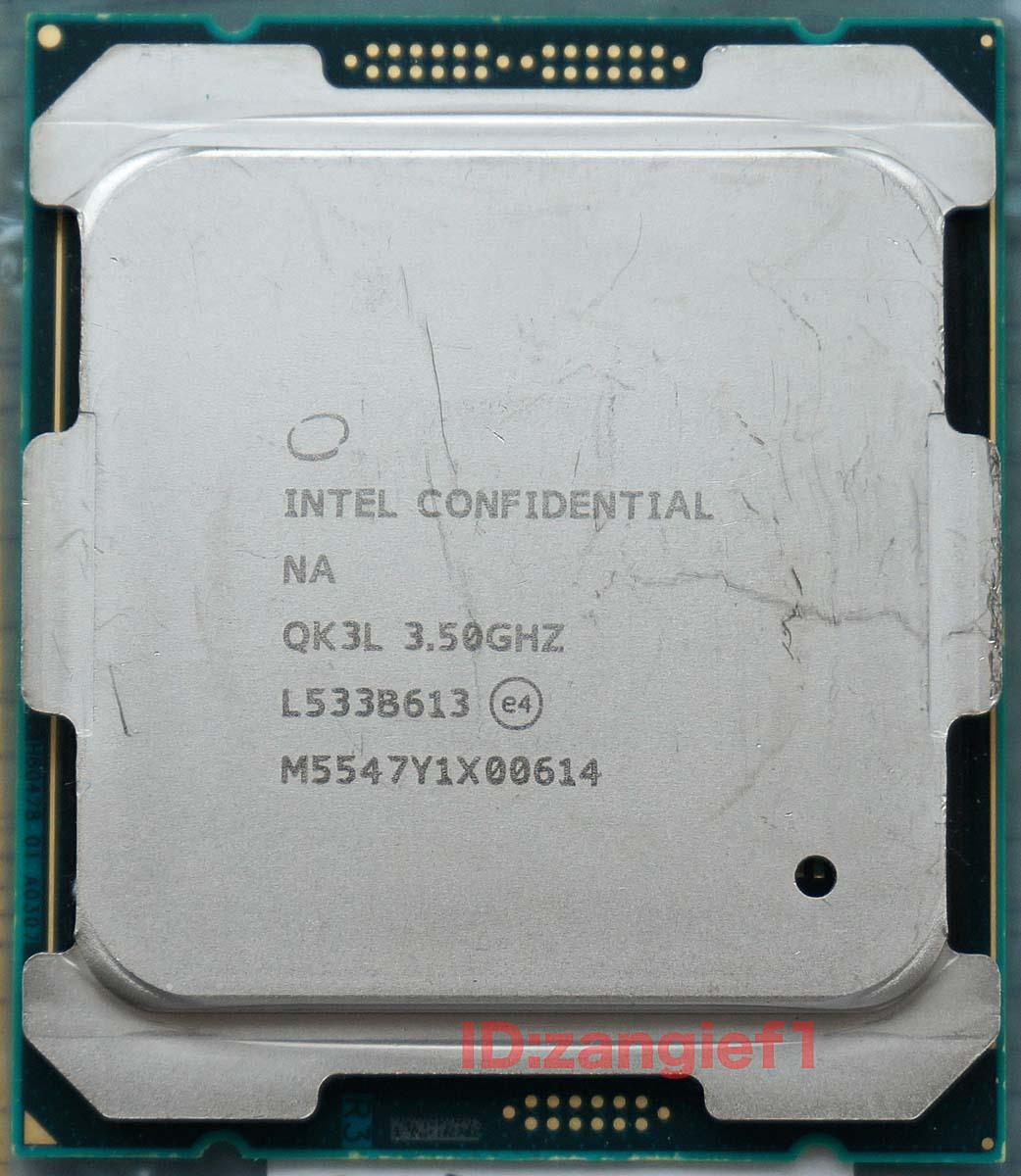 ★☆動作確認済 intel Xeon E5-1620 V4 ES QK3L 4コア8スレッド LGA2011-3 X99等 Broadwell-E☆★