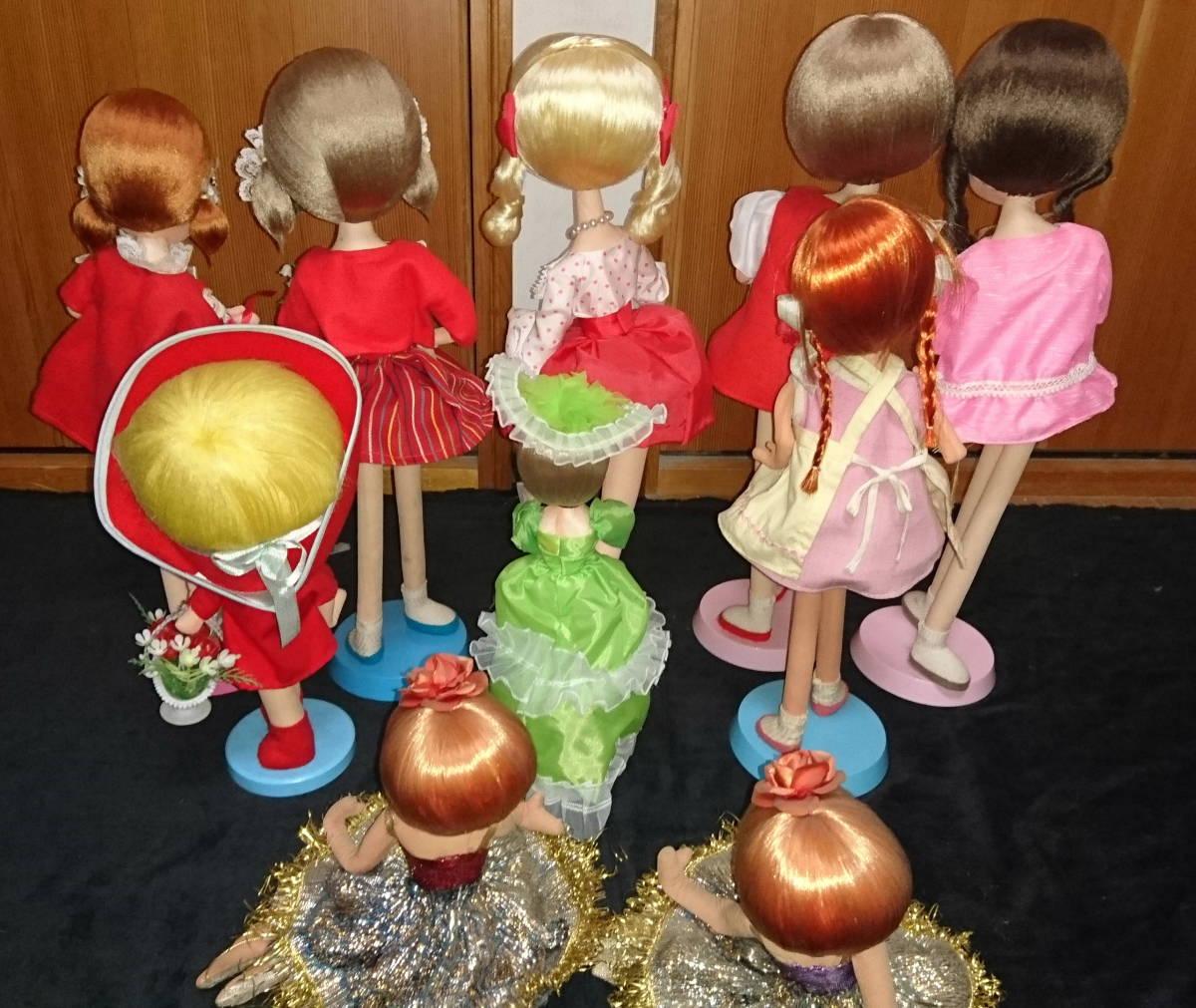人形 ドール 大量 まとめ 10体セット ドレス ロリータ 30~48cm おもちゃ 女の子 No,2_画像5
