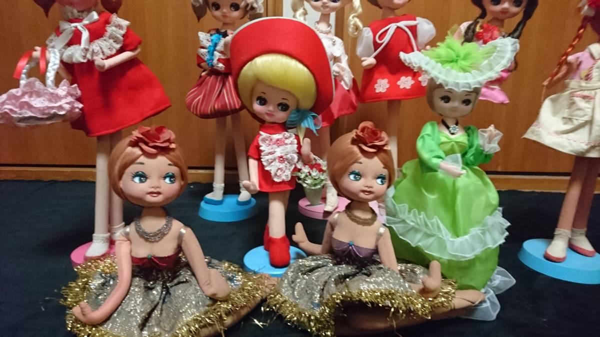 人形 ドール 大量 まとめ 10体セット ドレス ロリータ 30~48cm おもちゃ 女の子 No,2_画像2