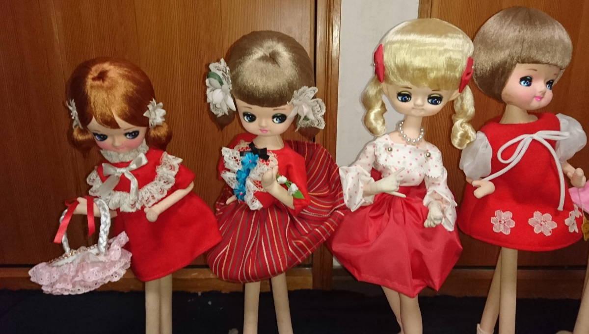 人形 ドール 大量 まとめ 10体セット ドレス ロリータ 30~48cm おもちゃ 女の子 No,2_画像3
