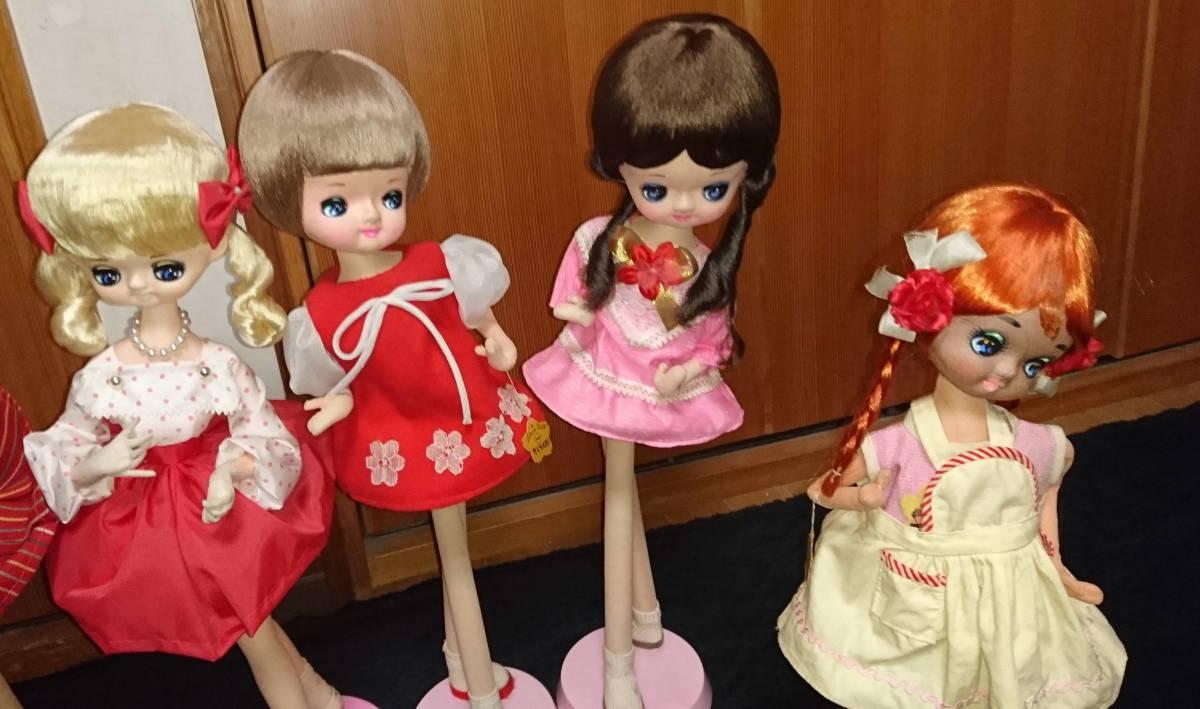 人形 ドール 大量 まとめ 10体セット ドレス ロリータ 30~48cm おもちゃ 女の子 No,2_画像4