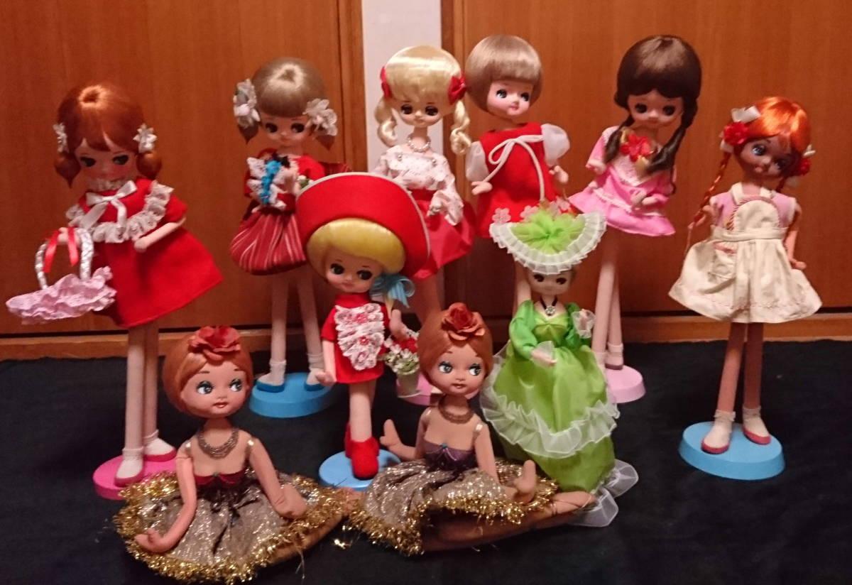 人形 ドール 大量 まとめ 10体セット ドレス ロリータ 30~48cm おもちゃ 女の子 No,2