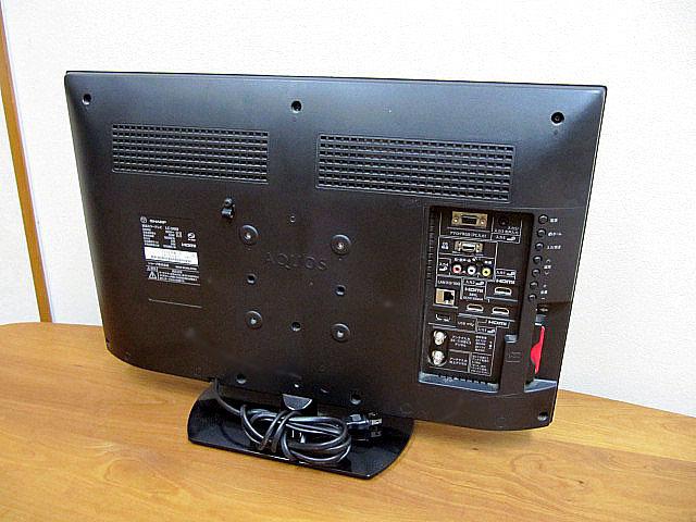 中古品/美品 2014年製 SHARP/シャープ AQUOS/アクオス 24V型液晶テレビ LC-24K9_画像2