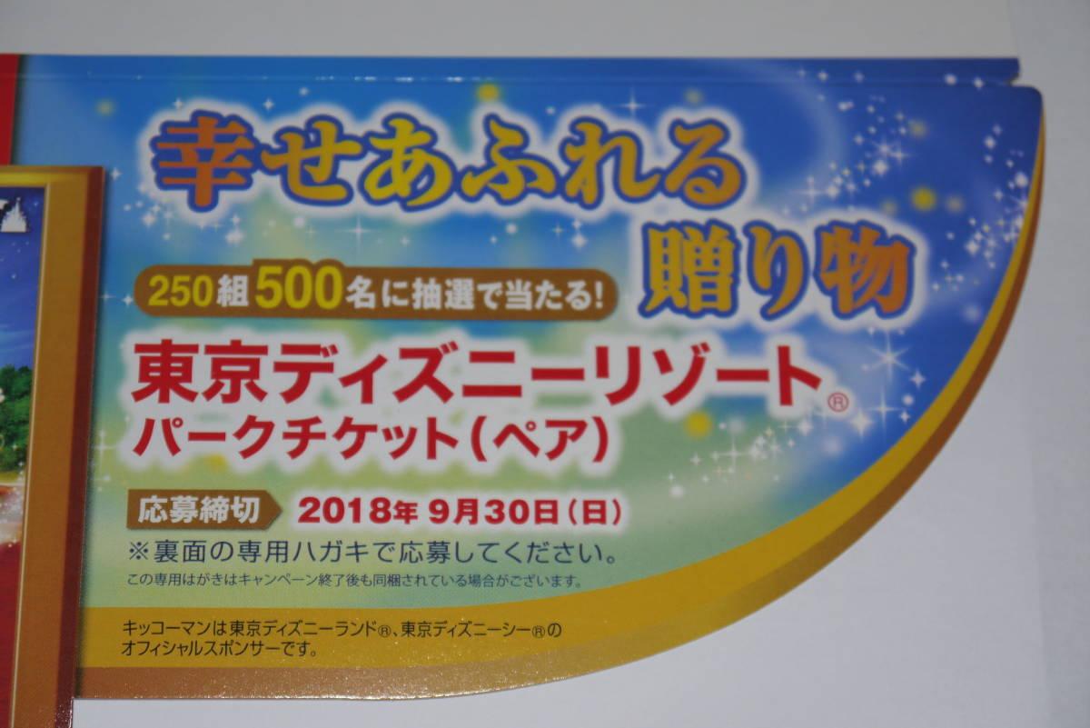 懸賞 東京ディズニーリゾートパークチケットが当る応募2口分