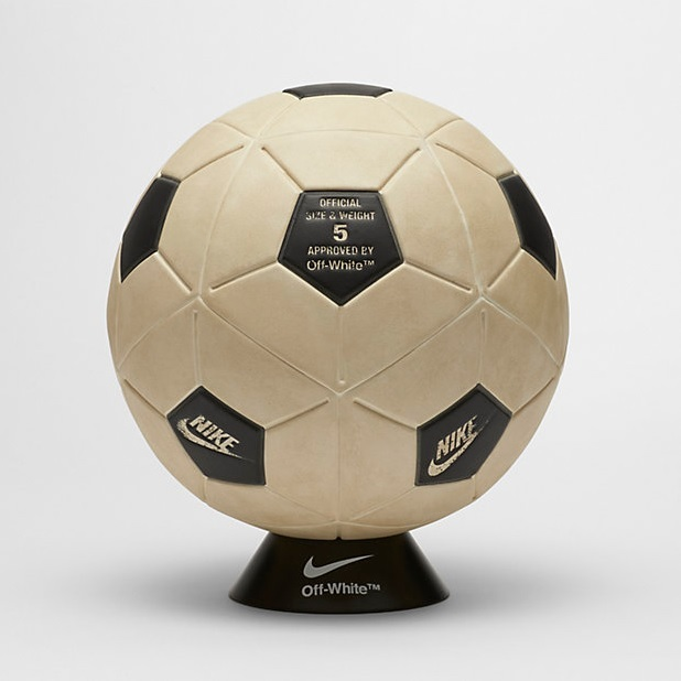 NIKE OFF WHITE MAGIA FOOTBALL サッカー ボール W杯 オフホワイト Virgil Abloh soccer ball_画像1