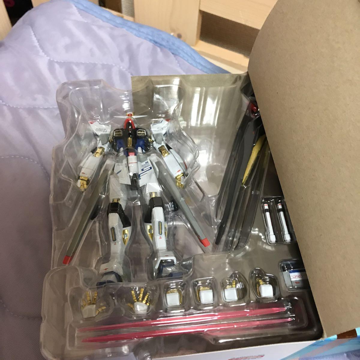 【新品開封済】バンダイ 超合金 メタルロボット魂 ZGMF-X20A ストライクフリーダムガンダム 機動戦士ガンダムシードディスティニー _画像6