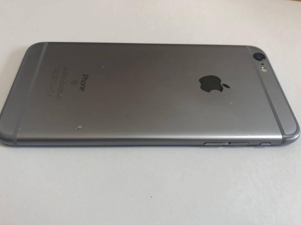 iPhone 6s PLUS 国内SIMフリー版 128GB スペースグレー 付属品未使用_画像3