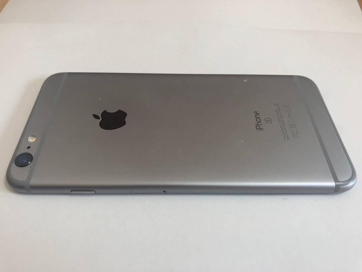 iPhone 6s PLUS 国内SIMフリー版 128GB スペースグレー 付属品未使用_画像2