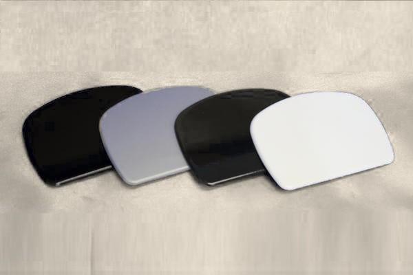 200 ハイエース 4型 標準/ワイド リアゲート ミラーホールカバー 塗装済 1E2 ダークグレー リア ミラーカバー ホールカバー レジアスエース_画像4