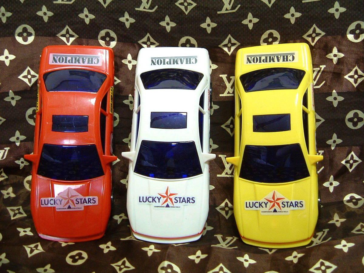 ◆ S13 シルビア タイプ プラカー 模型 ミニカー 3色 セット カスタムベースに 旧車 おもちゃ TOY JUNK _画像4