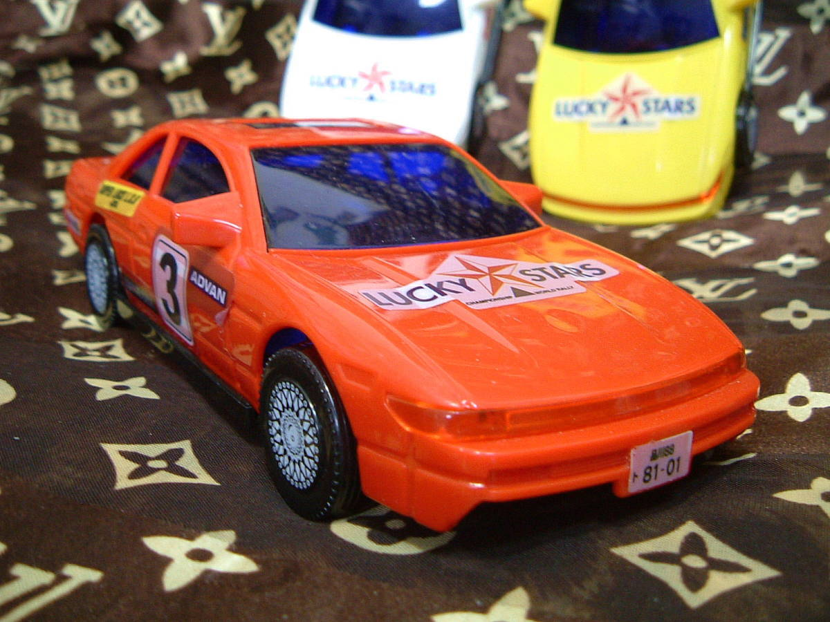 ◆ S13 シルビア タイプ プラカー 模型 ミニカー 3色 セット カスタムベースに 旧車 おもちゃ TOY JUNK _画像2