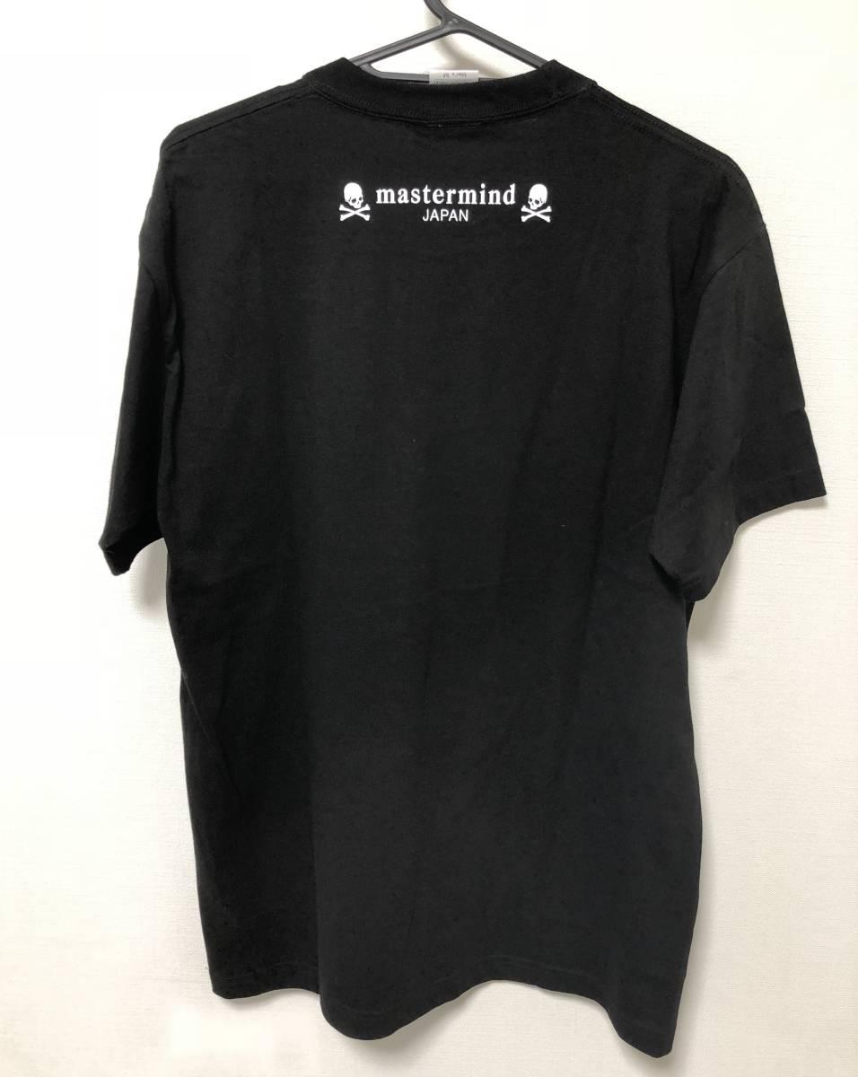 magaseek限定 マスターマインド・ジャパン mastermind JAPAN FINAL COUNT DOWN LOVE Tシャツ サイズM 黒_画像2