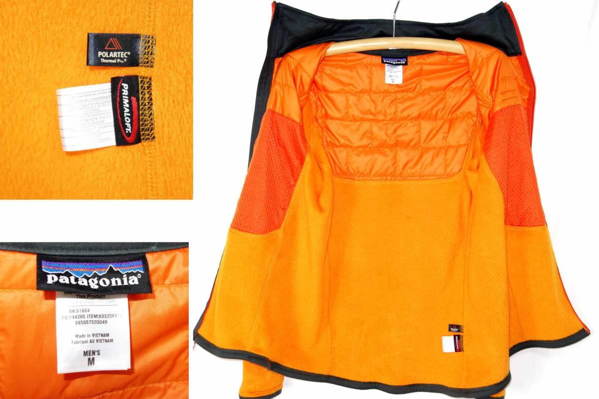 買取キング466■美品パタゴニアナノパフハイブリッドオレンジM/M's Nano Puff Hybrid Jkt 83320 _画像2