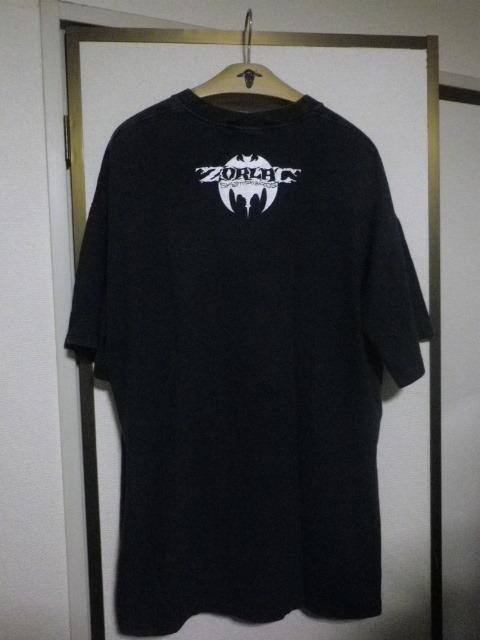 90s ZORLAC pushead ゾーラック パスヘッド画 クロコダイル Tシャツ XLサイズ_画像3