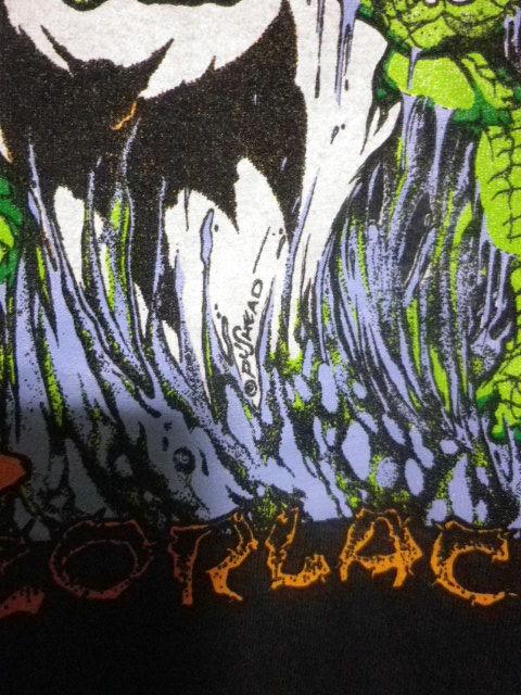 90s ZORLAC pushead ゾーラック パスヘッド画 クロコダイル Tシャツ XLサイズ_画像4