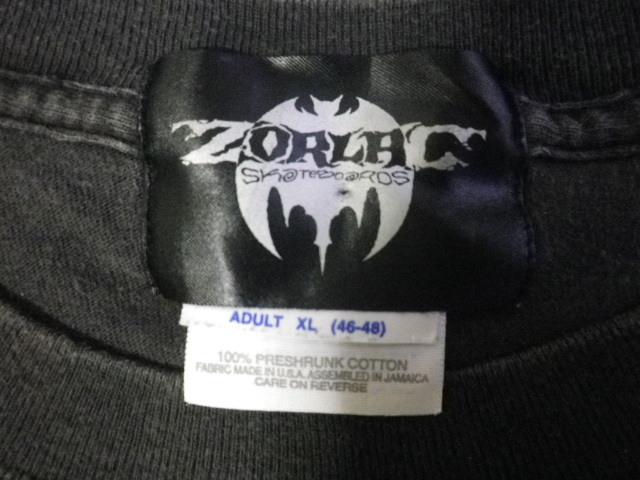 90s ZORLAC pushead ゾーラック パスヘッド画 クロコダイル Tシャツ XLサイズ_画像5