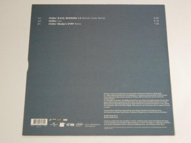MODJO/CHILLIN' REVISITED/ 2001年盤 / 587 060-1 / EU盤 / 試聴検査済み_画像2