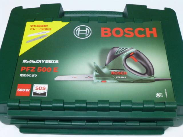 ★新品未使用 BOSCHボッシュ電機のこぎり PFZ500E